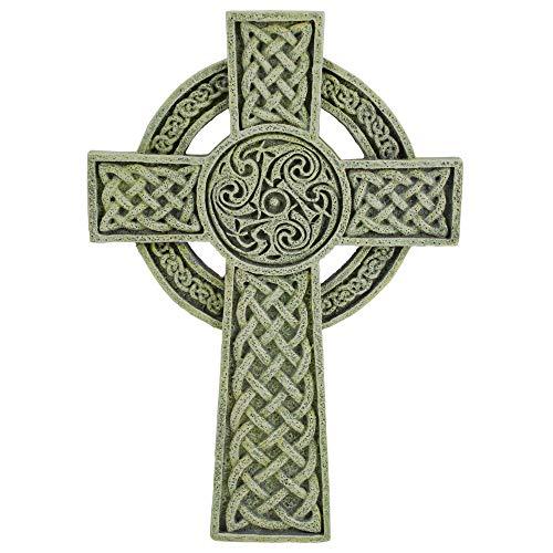Roman 9.5' Joseph's Studio Irish Detailed Celtic Wall Cross Decoration