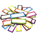 Magnetic Dry Erase Labels Galaxy Name Plates 3 x 1.2 Inches 32 Labels for Whiteboard School Office Supplies