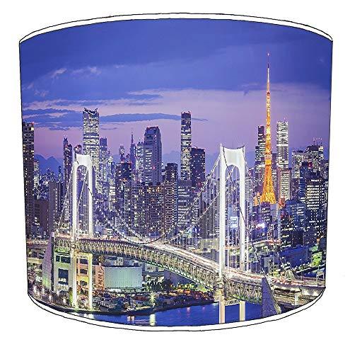 Premier Lighting Ltd 25cm Stadt von Tokyo Lampenschirme4 Für eine Deckenleuchte