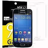 NEW'C Lot de 2, Verre Trempé pour Samsung Galaxy Trend Lite, Film Protection écran - Anti Rayures - sans Bulles d'air -Ultra Résistant (0,33mm HD Ultra Transparent) Dureté 9H Glass