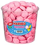 Haribo Pink Bubble Runddose, 150 Stück