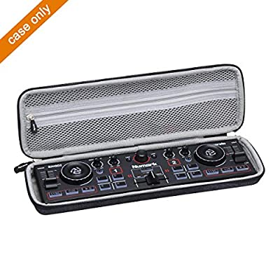 Aproca Hard Protective Storage Case For Numark DJ2GO2 Ultra Portable DJ Controller/AKAI Professional LPD8 MIDI Controller