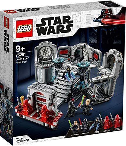 LEGO Star Wars: Return of The Jedi Death Star Final Duel 75291 Building Toy for Hours of Creative Fun (775 Pieces)