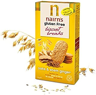 Nairns Gluten Free Stem Ginger Biscuit Break 160g - 3 Pack