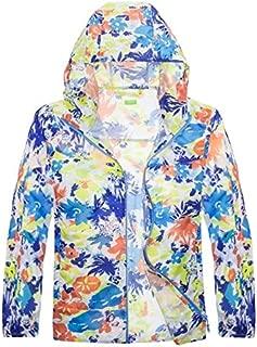 BEESCLOVER Outdoor Sport Kids Jackets Children Boys Girls Light-Weight Quick-Dry Thin Breathable Hiking Coats