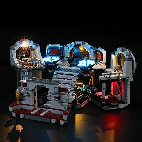 ZHLY Kit di luci LED per Lego 75291 Star Wars Il duello Finale della Death Star, Set di Luci Illuminazione per Lego 75291 (Modello Lego Non Incluso)