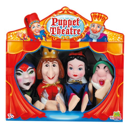 4 Marionetas Blancanieves