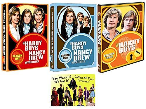 The Hardy Boys / Nancy Drew Mysteries: Complete TV Series Seasons 1-3 DVD Collection + Bonus Art Card