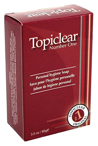 Topiclear Lot de 3 savons antiseptiques 89 ml