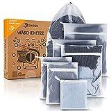 DRIDEN Wäschenetz für Waschmaschine & Trockner [7er Set] Extra strapazierfähig - Wäschesack ohne Abfärben - Für seidige Wäsche bis hin zu Spielzeug