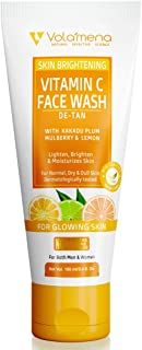 VOLAMENA WITH DEVICE Vitamin C Face wash with kakadu plum for both men & women 100 ml