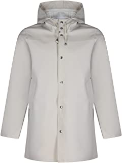 STUTTERHEIM Stockholm Raincoat Jacket X Large Light Sand