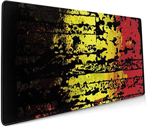 België Vlag Profional Grote Muis Pad Toetsenbord Pad Lange ed Multifunctionele Computer Game Muis Mat Eén maat Belgium Flag