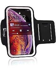 RevereSport iPhone 12 Mini Running Armband. Premium Sports Arm Telefoonhoes Houder voor hardlopers, Oefening & Gym Trainingen