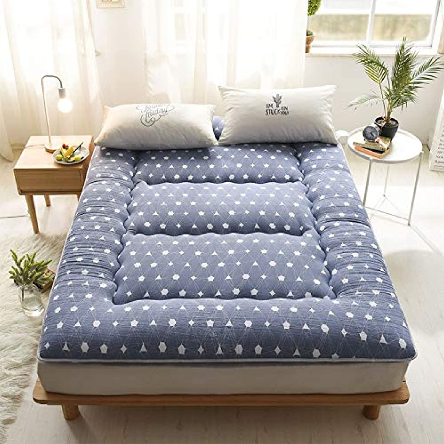 Foldable Sleeping Topper Mattress futon Japanese mat ...