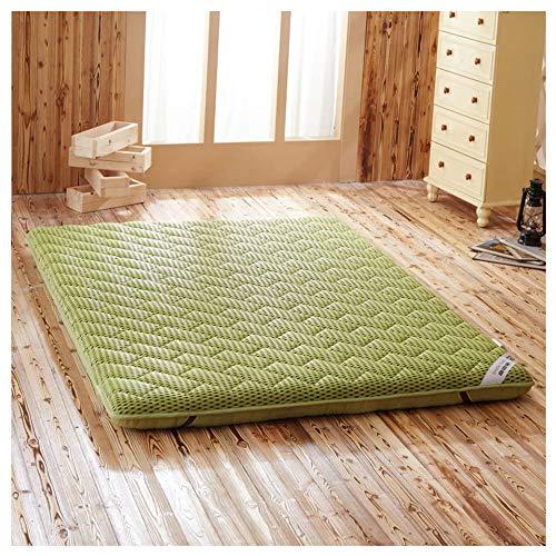YTDHBLK Feuchtigkeitsbeständige atmungsaktive Matratze, japanische Schlafmatte, Matratzendicke 7 cm,Tatami-Bodenmatte/C / 90 x 200 cm