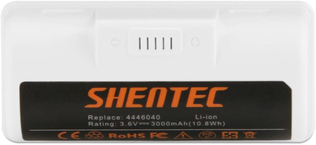 Shentec 3.6V 3000mAh Replacement Battery Compatible with iRobot Braava Jet 240 Floor Mopping Robots Li-ion 3.6V Battery