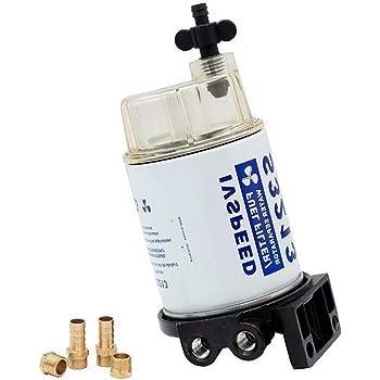Diesel-Inline-Rohrfilter f/ür Dieselgeneratormotor 186FA 178FA 186F 5KW Dieselgeneratorfilter Kraftstoff-Wasserabscheider ABS-Ersatz-Heiz/ölfilter langlebig