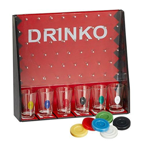 Preis am Stiel 1 x Trinkspiel Drinko | Gesellschaftsspiel | Partyspiel | Kult Spiel Festival | Saufspiel | Spiele für Erwachsene | Brettspiel | Junggesellenabschied | Sportler | Partyspiel-Saufspiel