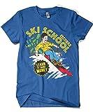 1538-Camiseta Escobar Ski School (Gualda Trazos)