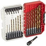 CRAFTSMAN Drill Bit Set/ Screwdriver Set 21-Piece Titanium (CMAM3211)