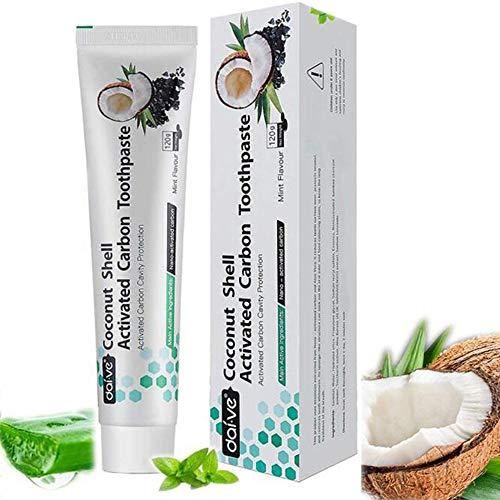 Vista Zahnpasta Kokosnuss Bambus Mint Teeth Whitening Zahnpasta Ohne Fluorid Tee Kaffee Fleck Entfernen (Coco 1 Pack)