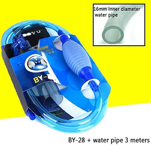 MC.PIG AQUARIUM GRAVELREINIGERS-Aquarium Grindreiniger Efficiënte elektrische automatische vacuümwaterwisselaar Flexibele aquarium Zandalgenreiniger Waterfilter Pomp Sifonreinigingsgereedschap