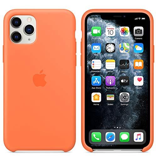 iPhone 11 Pro Max Case,iPhone 11 Pro Max Silicone Case,Slim Soft Liquid Silicone Rubber Shockproof Cover for iPhone 11 Pro Max 6.5 inch (Vitamin C)