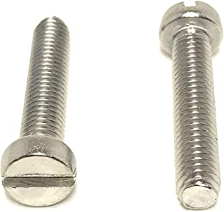 Fully Threaded Off-White Nylon 6//6 Machine Screw 16mm Length Plain Finish Meets ASTM D4066//ASTM D6779 Oval Head Pack of 100 Phillips Drive M5-0.8 Metric Coarse Threads