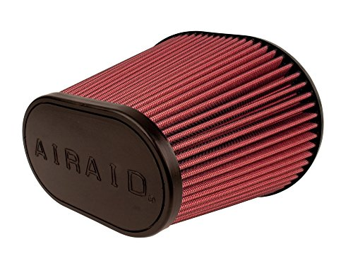Airaid 720-479 Universal Clamp-On Air Filter: Oval Tapered; 6 in (152 mm) Flange ID; 6.875 in (175 mm) Height; 9 in x 7.25 in (229 mm x 184 mm) Base; 6.25 in x 3.75 in (159 mm x95 mm) Top