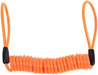 VGEBY1 Disc Lock-kabel, motorfiets remover kabel Disc Lock Kabel 1,5 m Alarm Lock veiligheidsveer Reminder kabel diefstalb...