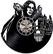 Harry Potter Theme Handmade Vinyl Wall Clock Birthday Giftrecord Decoration