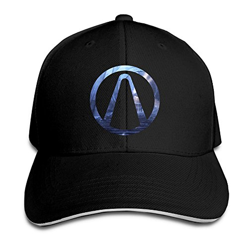 Geneva F Adult The Vault Borderlands Sandwich Bill Baseball Snapback Black
