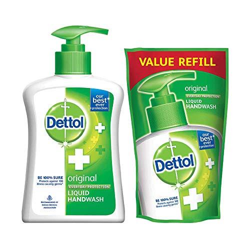 Dettol Liquid Handwash (Original) - 200 ml with Free Dettol...