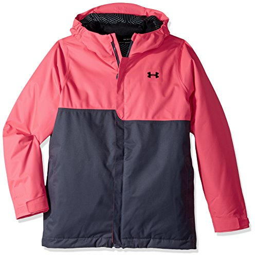 Under Armour Rideable Jacket, Penta Pink (975)/Black, Youth Medium