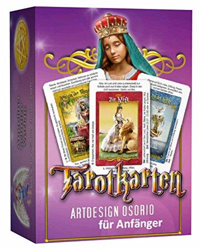 Angelina Schulze Tarotkarten Artdesign Osorio für Anfänger