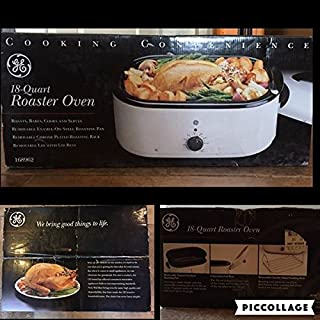 GE 18-Quart Roaster Oven - Roasts, Bakes, Cooks and Serves