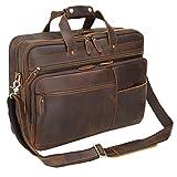 Polare 18-in Full Grain Leather Briefcase