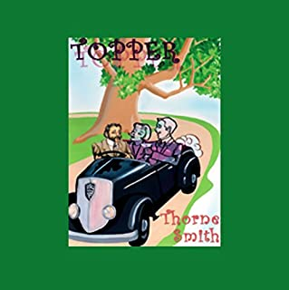 Topper audiobook cover art
