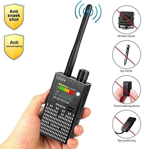 HF-Detektor & Kamera-Sucher, GSM Abhören Gerät Für Drahtlose Audio-Bug, GPS Rader Radio-Scanner