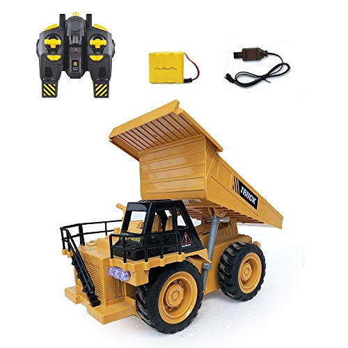 Remote Control High Speed Truck Engineering Truck Dumper Loader Excavator Bulldozer Tower Crane Electric Car Car Climbing Car Gifts Kids Toy Boys Educational Toys