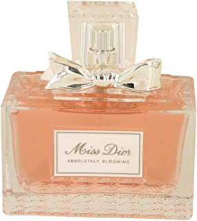 Dior Miss Dior Absolutely Blooming By for Women Eau De Parfum Spray, 3.4 Oz (Plain white Box)