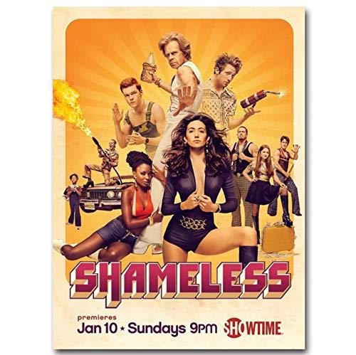 yhnjikl Poster Und Drucke Shameless Season Tv Show Kunst Poster Leinwand Malerei Wohnkultur 40X60 cm Ohne Rahmen