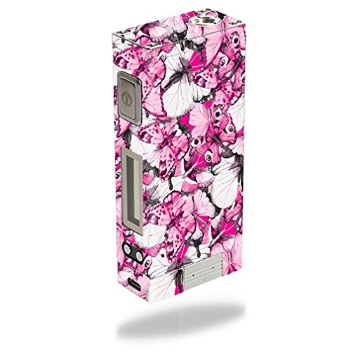 MightySkins Skin Compatible with Innokin iTaste MVP 3.0 – Butterflies | Protective, Durable, and Unique Vinyl Decal wrap Cover | Easy to Apply, Remove, and Change Styles | Made in The USA