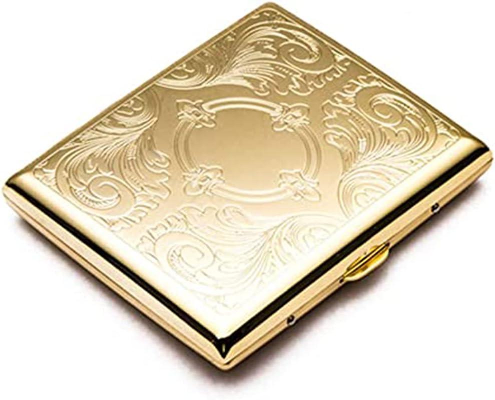 SJJMYM Gold Metal Sculpture Our shop OFFers the wholesale best service Cigarette Case Accessories