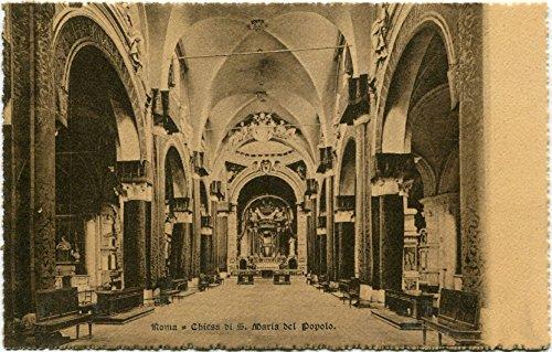 Primi anni 1900 Roma - Interno della Chiesa di S