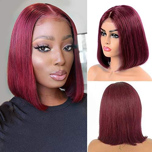 Burgundy brazilian hair _image3