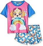 Paw Patrol Pijamas la Patrulla Canina de Manga Corta para niñas Skye Multicolor 3-4 Años