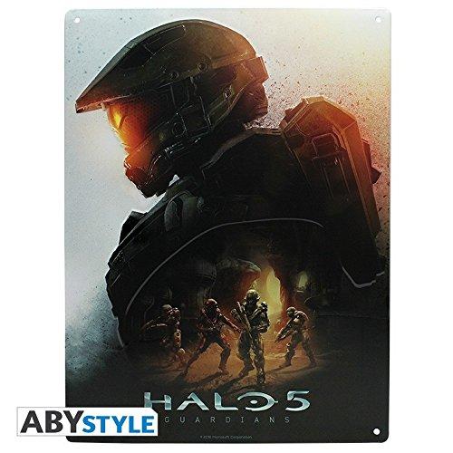 Halo 5-3D Blechschild - Master Chief - 38 x 28 cm