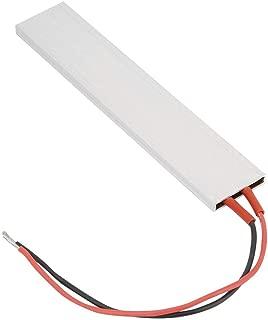12V/24V/220V Aluminum PTC Heating Element, 70℃- 220℃ PTC Thermostat Heater Plate PTC Ceramic Air Heater Miniature Heating 15028.5mm(12V 120℃)